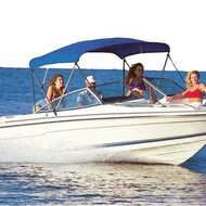 "Ultima Bimini Boat Top 85-90"" Width x 54"" Height 6 ft Long"