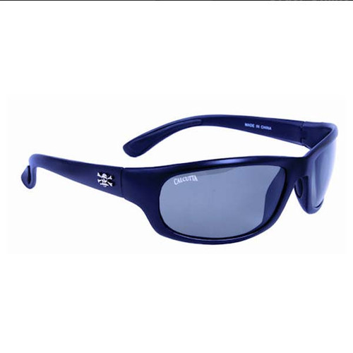 Calcutta Steelhead Sunglasses - Black Frame W/ Gray Lens