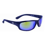 Calcutta Steelhead Sunglasses - Black Frame W/ Green Mirror Lens