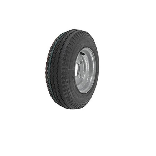 "Loadstar 570-8 4 Lug 8"" Bias Trailer Tire - Galvanized Load B"