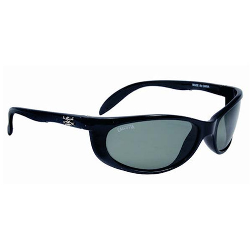 Calcutta Smoker Sunglasses - Black Frame W/ Gray Lens