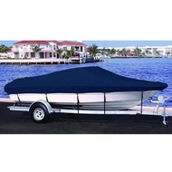 Lund 1440 V Rebel SS Side Console Outboard Boat Cover 1999 - 2005