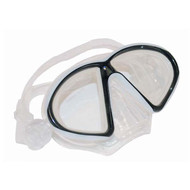 Clear & Black Med/Lg Mask By Calcutta