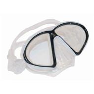 Clear & Black Med/Lg Mask By Calcutta