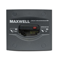 Maxwell Marine 135 AMP Breaker/Isolator Panel