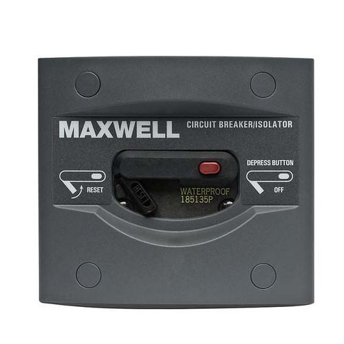 Maxwell Marine 135 AMP Breaker/Isolator Panel