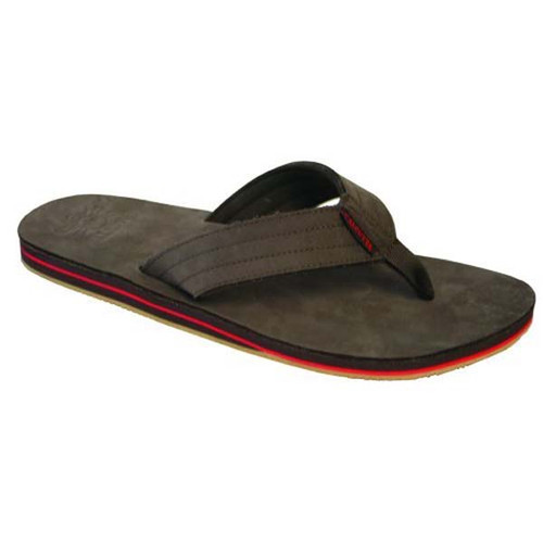 Brown Nubuck Flip Flop Sandal For Men By Calcutta