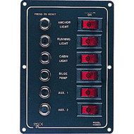 Sea Dog Aluminum Breaker Panel