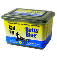 "Blue Mono Cast Net W/ 3/8"" Mesh By Betts"