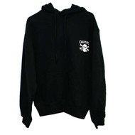 Black Hooded Sweatshirt By Calcutta