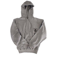 Gray Hooded Sweatshirt By Calcutta