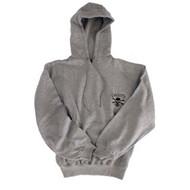 Gray Hooded Sweatshirt By Calcutta