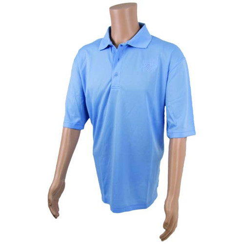 Light Blue Technical Polo Shirt By Calcutta