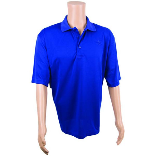 Royal Blue Technical Polo Shirt By Calcutta