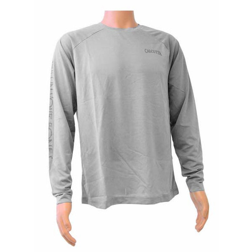 Gray Performance Long Sleeve By Calcutta