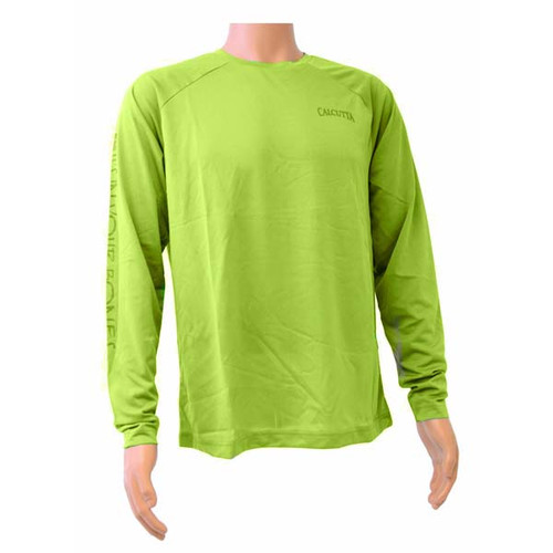 Lime Green Performance Long Sleeve By Calcutta