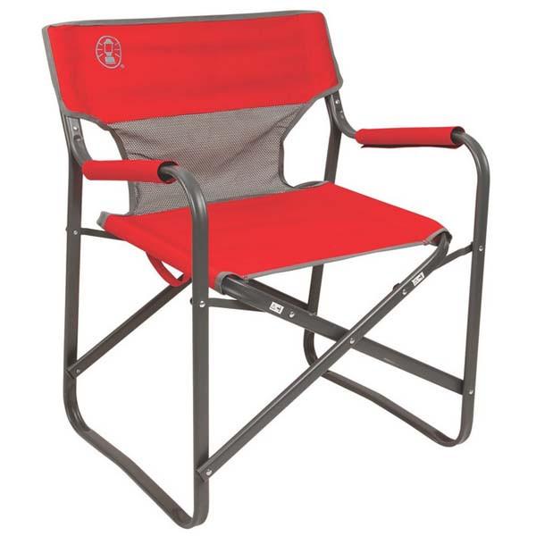 Coleman Steel Deck Chair W Mesh