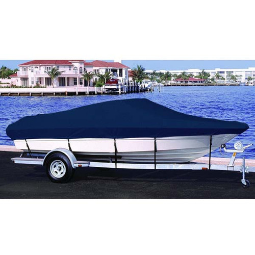 Lund 1700 Angler Side Console Outboard  Boat Cover 1999 - 2001