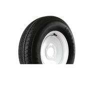 """Karrier 225/75D15 5 Lug 15"""" Radial Trailer Tire - White"""
