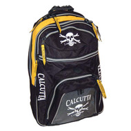 Calcutta Standard Black & Yellow Back Pack
