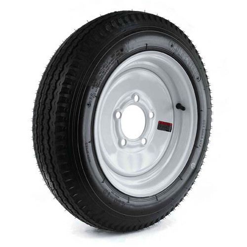 "Loadstar 480-12 5 Lug 12"" Bias Trailer Tire - White"