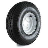 "Loadstar 570-8 4 Lug 8"" Bias Trailer Tire - White"