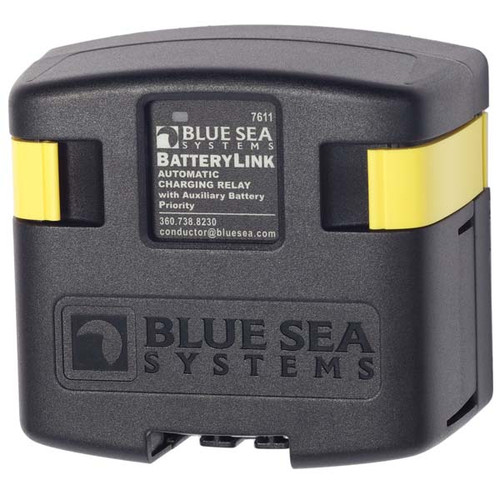 Blue Sea BatteryLink Automatic Charging Relay - 12V/24V DC 120A