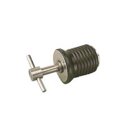 "Sea Dog 520085-1 1""Stainless T-Handle Drain Plug"