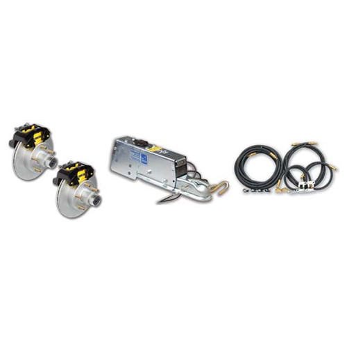 "Tie Down Eliminator Vented Rotor Disc Brake Complete Kit - 10"""