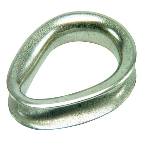 "Ronstan Sailmaker Stainless Steel Thimble - 6mm(1/4"") Cable Diameter"