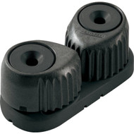 Ronstan C-Cleat Cam Cleat - Medium - Black w\/Black Base