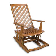 Whitecap Industries Teak Glider Chair