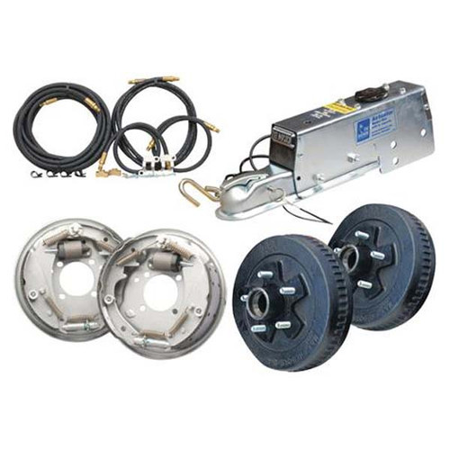 Tie Down Complete Drum Brake Installation Kit - 10""