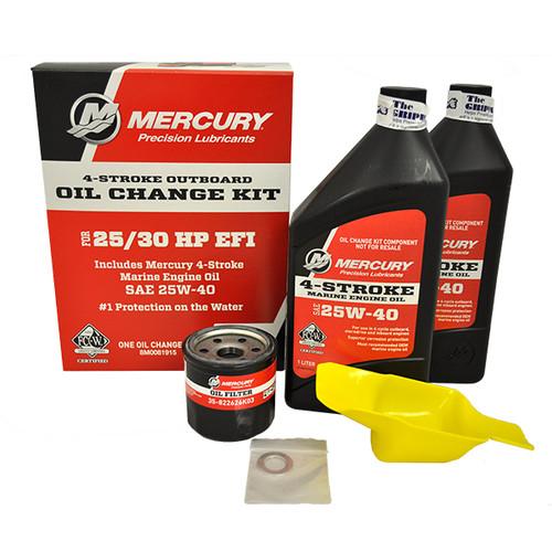 Mercury Marine 25/30 hp 4-Stroke EFI Oil Change Kit