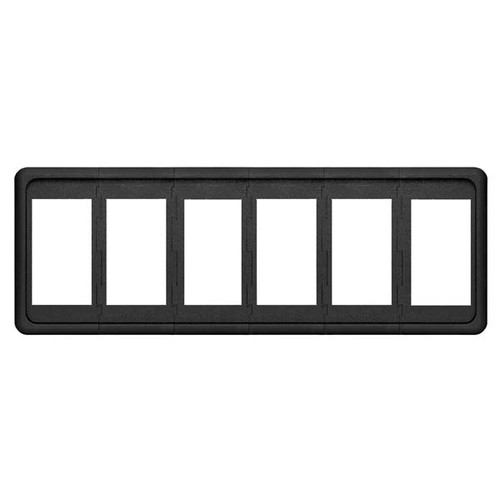 Blue Seas Systems Contura Switch Mounting Panel - 6 Position