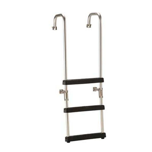 Garelick 18119 3-Step Transom Ladder