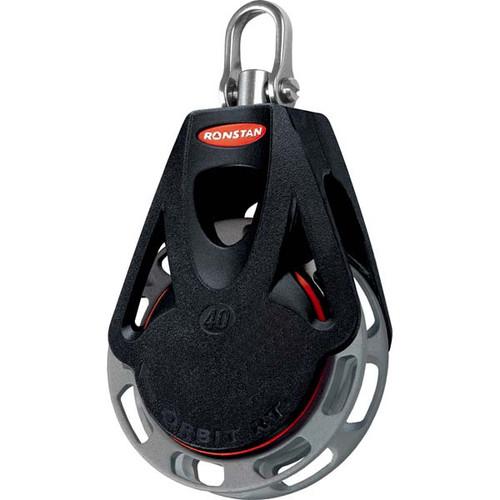 Ronstan Series 40 Ratchet Orbit Block™ - Single - Auto - Swivel Shackle Head