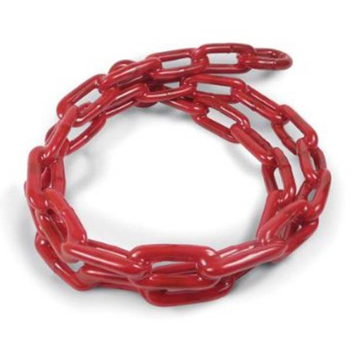 Greenfield PVC Coated Anchor Chain - Red