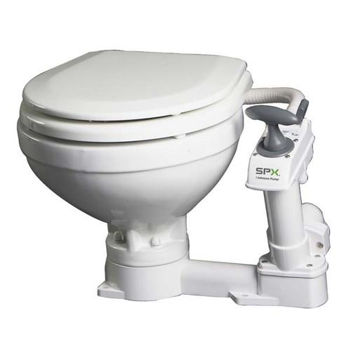 Johnson AquaT Compact Manual Marine Toilet