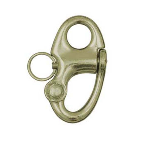 "Ronstan Brass Snap Shackle - Fixed Bail - 59.3mm(2-5/16"") Length"