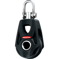 Ronstan Series 30 Ball Bearing Orbit Block - Single - Becket - Swivel Shackle Head