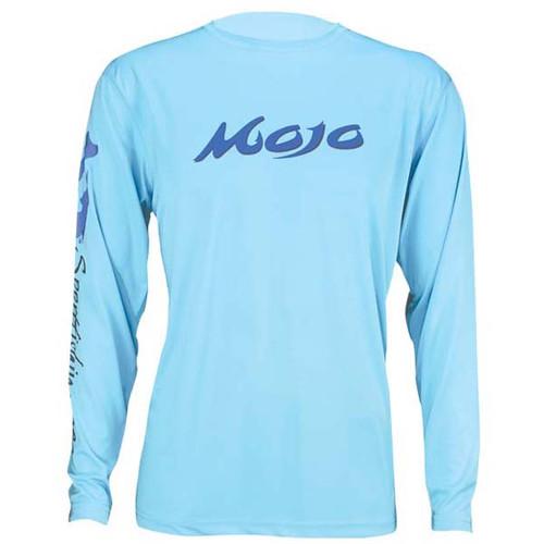 Mojo Wireman Long Sleeve Shirt - Lite Blue
