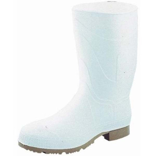 Servus White PVC Boot