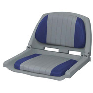 Wise Folding Plastic Seat - Grey Shell