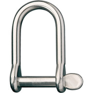 "Ronstan Wide Dee Shackle - 1\/4""Pin - 1-17\/32""L x 1-7\/32""W"