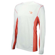 Mojo Redfish Vented Wireman Long Sleeve Shirt