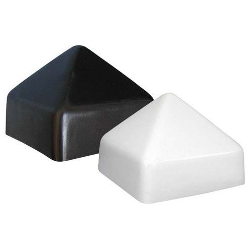 JIF Square Conehead Piling Cap - White