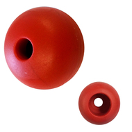 "Ronstan Parrel Bead - 25mm(1"") OD - Red - (Single)"