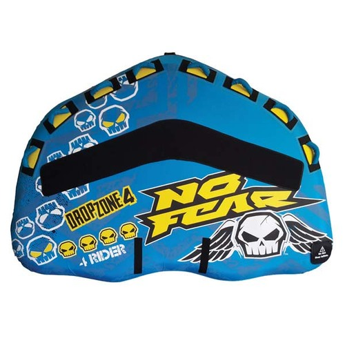 No Fear Dropzone 4 Towable Tube