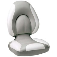Attwood Centric Fully Upholstered Seat - Grey Base Color